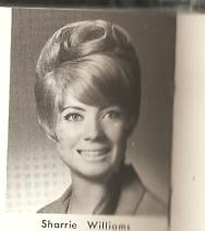 Sharrie high school picture 1965