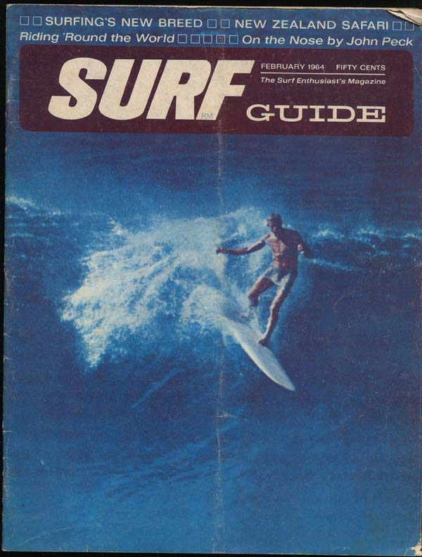 Saffrons rule surf magazine 1964