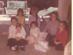 Sharrie, Billees first communion 1964
