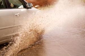saffrons rule puddle splashing