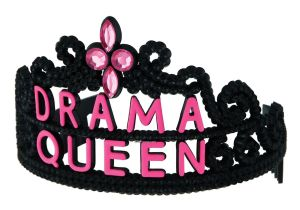 Saffrons rule Drama-Queen-Tiara--1-Size-Fits-263463