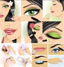 Patricia Stevens Modeling School set me on a course to Physical Fitness,  Check out this amazing Makeup trick I learned.