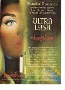 maybelline ultra lash, 1964