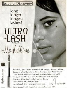 maybelline vintage black ad