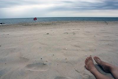 saffrons rule cold beach day
