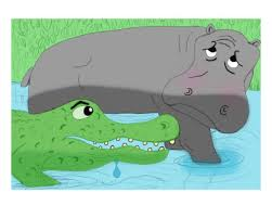 saffrons rule hippo and gator