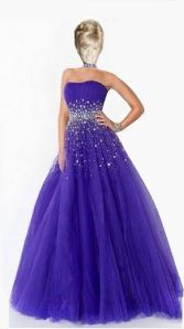 saffrons rule Sharrie ball gown
