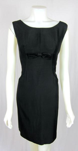 saffrons rule black sheath dress