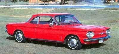 saffrons rule red chevolet corvair
