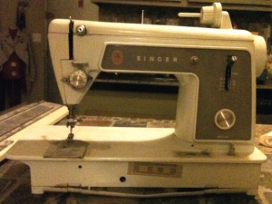 saffrons rule singer sewing maching