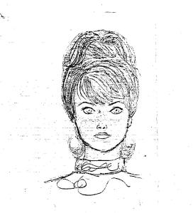 saffrons rule black wig