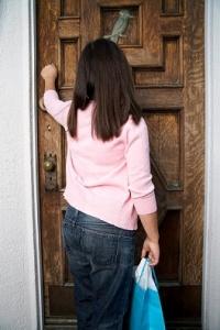 saffrons rule pledges knocking on a door