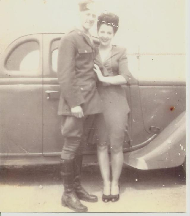 Bill And Pauline Weddng Pic