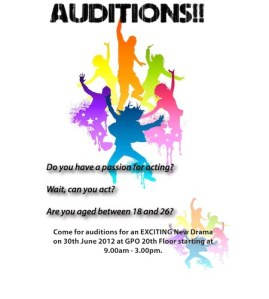 saffrons rule auditions