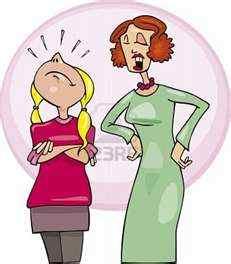 saffrons rule mom-daughter-cartoon