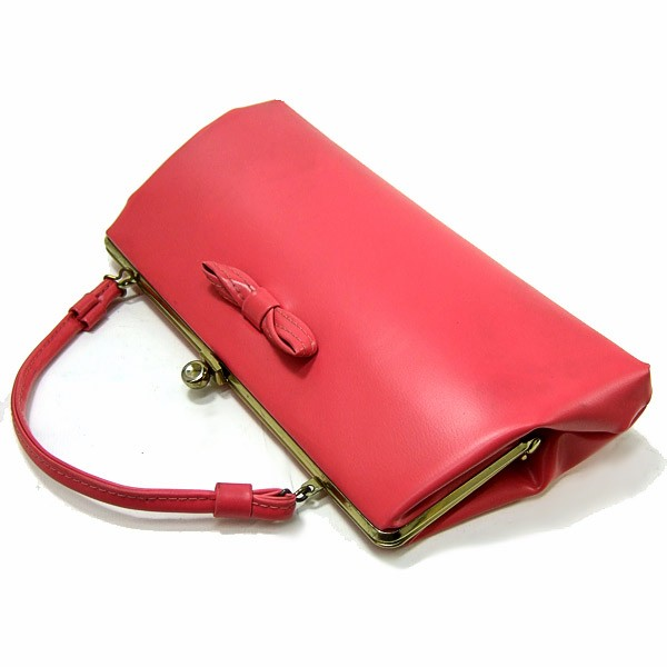 saffrons rule pink clutch bag